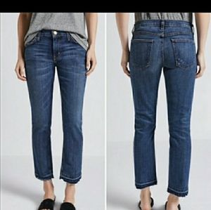 Current and Elliott The Cropped straight jeans 25